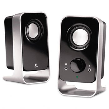 Logitech Ls11 2.0 Stereo Speaker System Sleek Compact Innovative Cable Management System