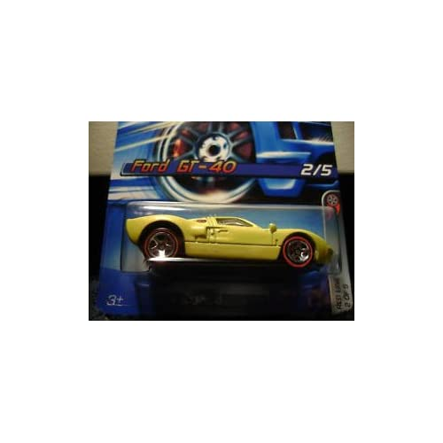 Hot Wheels Ford GT 40 Red Line #97 (2006)