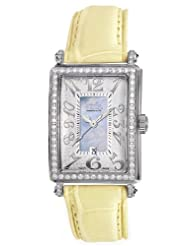 Gevril Women's 7247NL.9 Blue Mother-of-Pearl Genuine Alligator Strap Watch