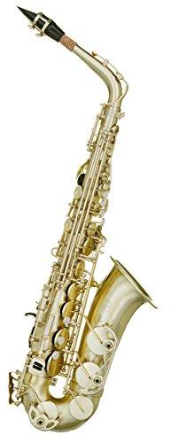 Saxophon Instrument-Jericho Alto in matt gold von Akademie® wurde im Vergleich zu der Yamaha 62-als einer der besten Budget Student Anfänger Saxophone auf dem Markt