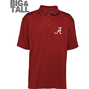 Alabama Crimson Tide Big & Tall Polo Shirt by Russell Athletic