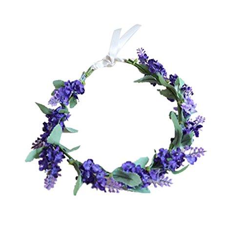 Garland Crown Lavender