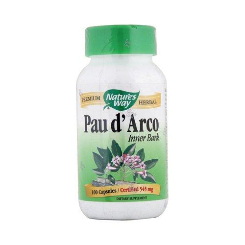 Nature'S Way Pau D'Arco Inner Bark 100 Capsules