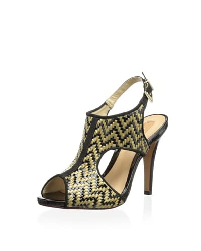 Schutz Women's Woven Sandal  [Tribal/Black]