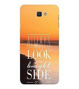 EPICCASE Brighter Life Mobile Back Case Cover For Samsung Galaxy J7 Prime (Designer Case)