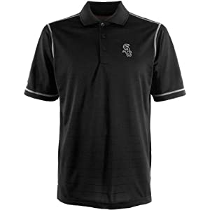 MLB Chicago White Sox Mens Icon Desert Dry Xtra Lite Polo by Antigua
