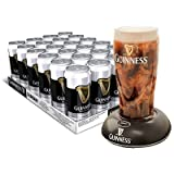 Guinness Surger - Case of 24 x 520ml cans with FREE GUINNESS SURGER (for pub quality Guinness)