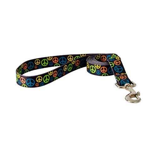 Yellow Dog Design Lead, 3/8-Inch by 60-Inch, Neon Peace Signs