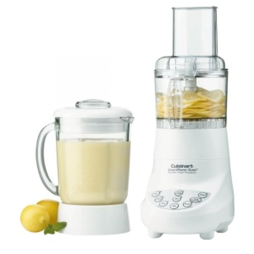 CONAIR BFP-703 / DUET BLENDER / FOOD PROCESSOR 7-SPEED SMARTPOWER / 3 Cup (Capacity) - 1.25 quart (Capacity) - 7 Speed - 350 W Motor - White