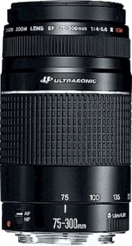 EF 75-300 mm III f/4-5,6 USM - Objectif pour Canon