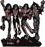 C&D Novelty Iron on Patch - Music / Bands Kiss Destroyer Cut - Out Applique