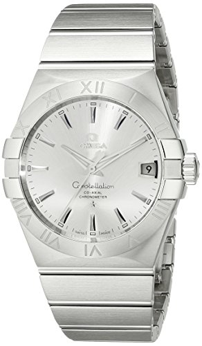 Omega-Mens-12310382102001-Constellation-Silver-Dial-Watch