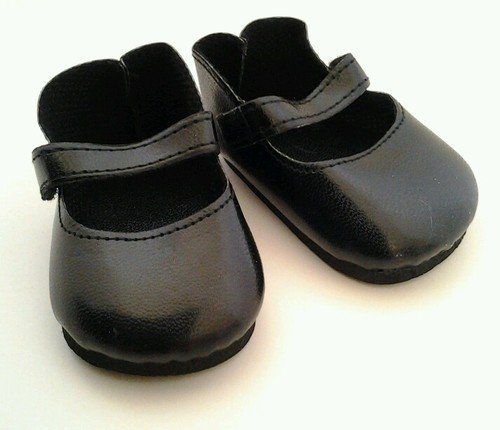 BLACK MATTE MARY JANES FOR AMERICAN GIRL DOLLS