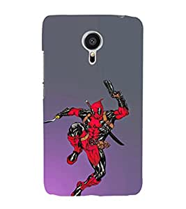 EPICCASE Deadpool jump Mobile Back Case Cover For Meizu MX 5 (Designer Case)