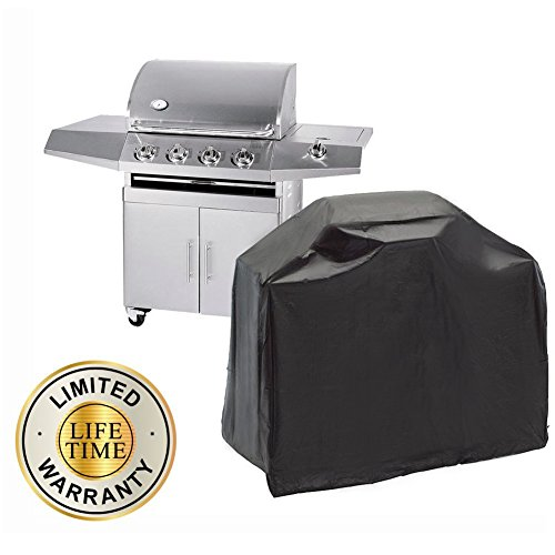 DiDaDi Durable Thick Heavy Duty BBQ Grill Cover Waterproof Dustproof UV Protection Gas Barbeque Grill Cover (57''x24''x46'') (Kitchen Aid Gas Grills compare prices)