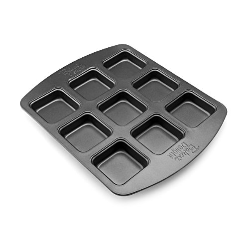 Baker's Advantage Nonstick Brownie Bar Pan, 9-Cavity