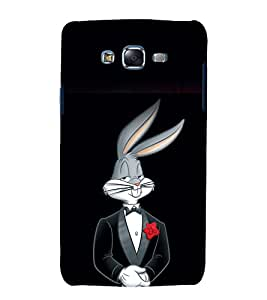 printtech Bugs Bunny Looney Toons Back Case Cover for Samsung Galaxy J7 / Samsung Galaxy J7 J700F