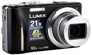 Panasonic Lumix DMC-TZ20EG-K Digitalkamera (14 Megapixel, 16-fach opt. Zoom, 7,5 cm (3 Zoll) Display, bildstabilisiert) schwarz