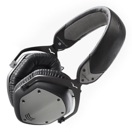 V-MODA Crossfade LP Over-Ear Noise-Isolating Metal Headphone (Gunmetal Black)