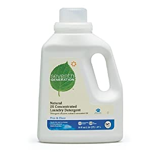 Seventh Generation Natural Liquid Laundry Detergent, 33 Loads