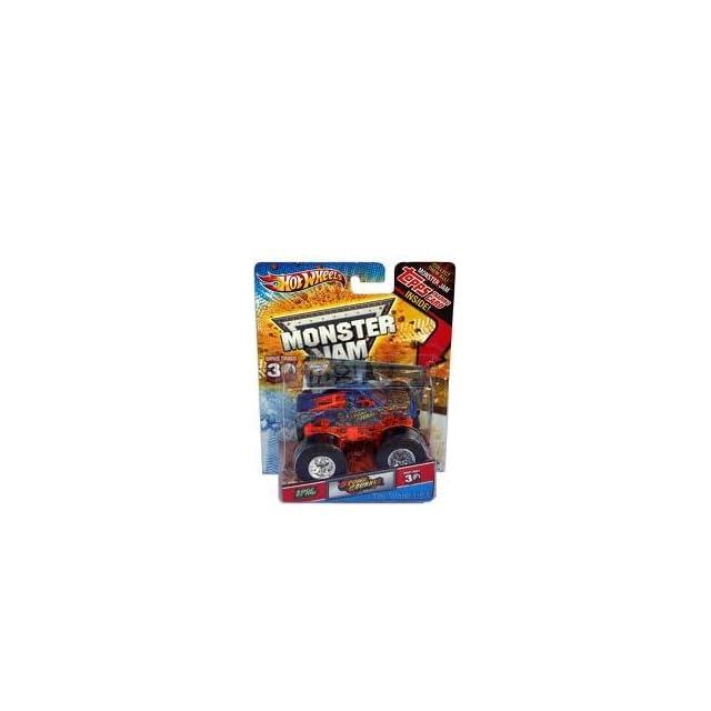 Hot Wheels Monster Jam   Stone Crusher   Includes Topps Trading Card