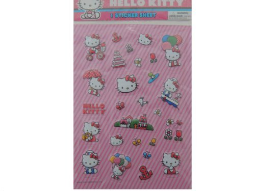 Sanrio Hello Kitty Raised Sticker 1 Sheet
