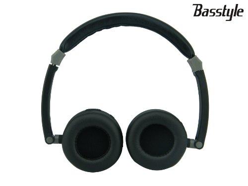 Basstyle Black Universal A2Dp Bluetooth Headset Headphone