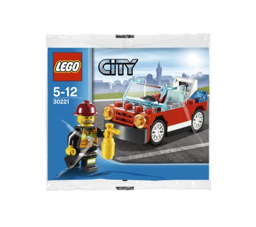 LEGO City: Fire Car Set 30221 (Bagged) - 1