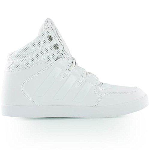 adidas Uomo Dropstep Scarpe da Ginnastica Basse Bianco Size: 43