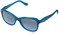 Vogue Gradient Butterfly Sunglasses (0VO2959S21098FMedium) (Opal Blue)