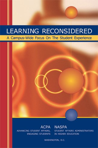 Learning Reconsidered A Campus-wide Focus on the Student...