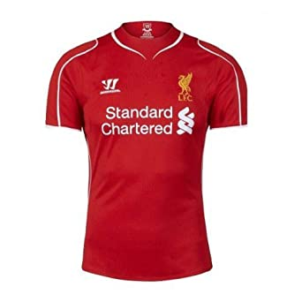 Warrior Liverpool Home Jersey Mens Red 2014 by Warrior