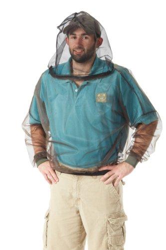 Bug Baffler Insect Protective Mesh Shirt, Olive, Large/X-Large