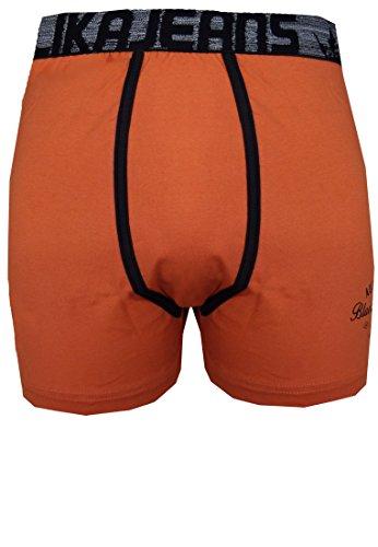 Replika -  Boxer  - Uomo arancione XXL
