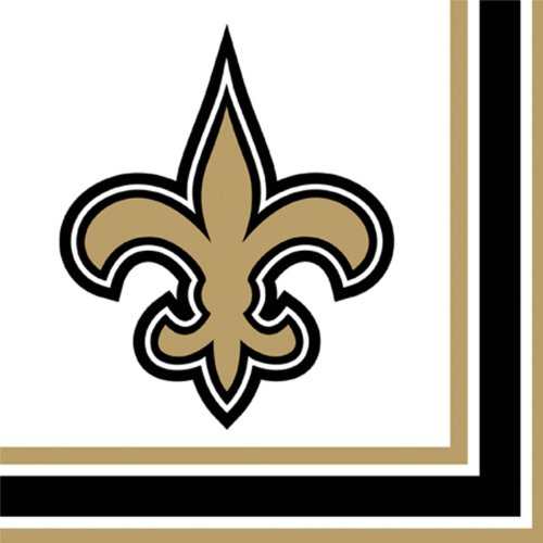 NFL New Orleans Saints Lunch Napkins (16)