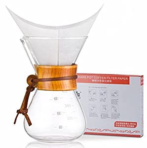 Coffee Maker Filter Paper : Diguo Glass Coffee Maker Classic Series Glass Coffeemaker(400ml/14oz/3 Cup) (One Coffee Maker ...