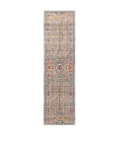 ABC Tappeti Tappeto Bright Grigio/Multicolore 57 x 200 cm