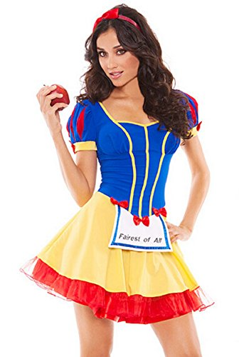 The Snow White Princess Outfit Halloween Party Costume DS Stage Outfit