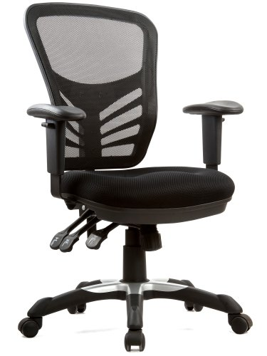 Articulate Black Executive Mesh Office Chair