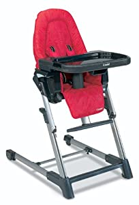 Combi Highchair, Raspberry