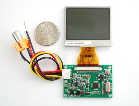 """2"""" Lcd Display With Composite Input For Raspberry Pi"""
