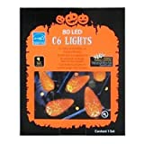 Halloween 80 Orange LED C6 Lights