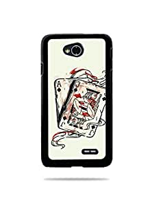 alDivo Premium Quality Printed Mobile Back Cover For LG L70 / LG L70 Printed Mobile Case / Printed Mobile Cover (ST043)