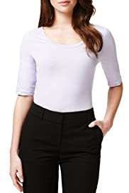 Autograph Supima® Cotton Plain Top [T50-8004-S]