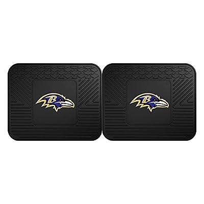 FANMATS 12305 NFL - Baltimore Ravens Utility Mat - 2 Piece