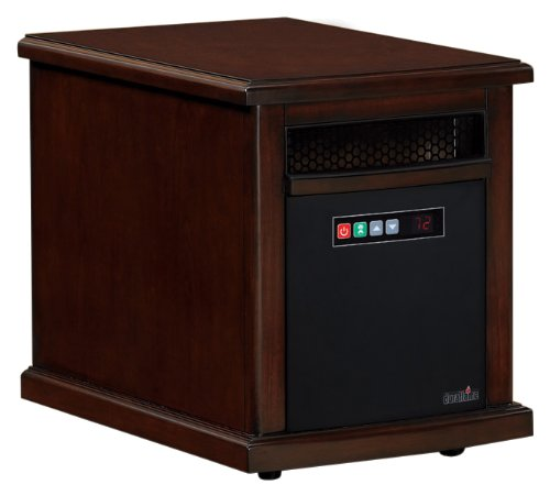 Duraflame Infared Quartz Electric Portable Heater Air Purifier Colby - Cherry