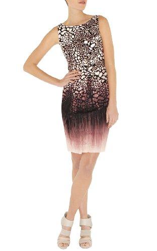 Modern Animal Print Dress