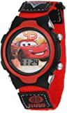 Disney Kids' CRS036T Cars gift tin set Watch