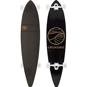 Gold Coast Classic Floater Longboard Black, 10 X 44in