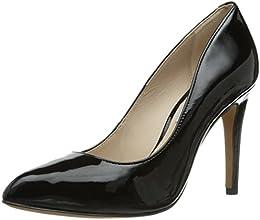 Clarks  Always Chic, Escarpins pour femme - Noir - Schwarz (Black Patent Leather), 41.5 EU (7.5 Femme UK) EU